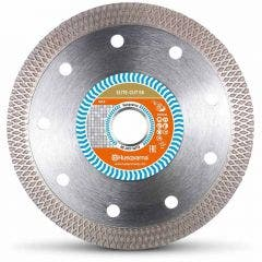 HUSQVARNA 105mm Turbo Continuous Rim Diamond Blade for Ceramic Cutting - ELITE CUT S6