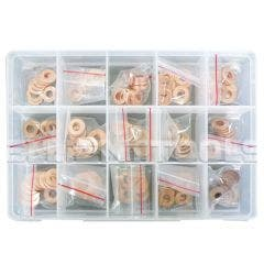 ENDEAVOUR Injector Copper Sealing Ring Kit (150 Pce)