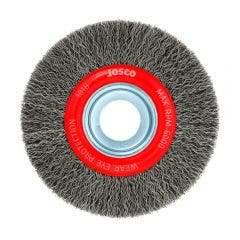 JOSCO 125mm Crimped Wheel Brush Steel Wire 101B