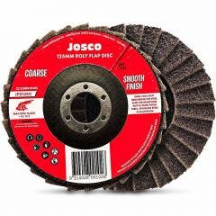 JOSCO 125mm Coarse Brown Surface-Conditioning Flap Disc