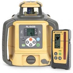 TOPCON Rotating Laser Level Red Beam Dial-Dual-Grade Rechargeable RL-SV2SRB + LS100D
