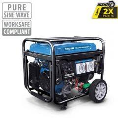 SABER 7.5kVA 6500W 15HP Petrol Generator SABGEN7KBP