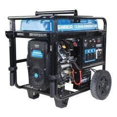 SABER 13.5kVA 12000W 25HP V-Twin Cylinder Engine Petrol Generator SABGEN13KECO