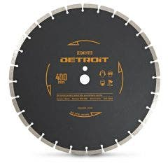 DETROIT 400mm Segmented Diamond Blade for General Purpose Cutting