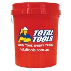 TOTAL TOOLS 20L Plastic Bucket with Handle TB20TT