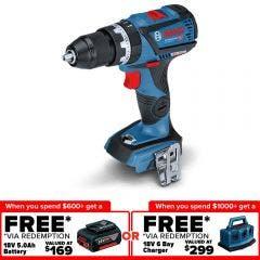 BOSCH 18V Brushless 13mm Hammer Drill Skin GSB 18V-60 C 0615990J9U