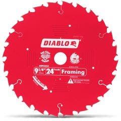 DIABLO 235mm 24T TCT Circular Saw Blade for Wood Cutting - FRAMING