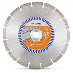 HUSQVARNA 230mm Segmented Diamond Blade for GENERAL Purpose Cutting - FLX-CUT S50
