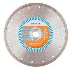 HUSQVARNA 230mm Continuous Rim Diamond Blade for Ceramic Cutting - FLX S4