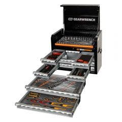 GEARWRENCH 207 Piece Tool Kit 7 Drawer 26 Inch Deep Chest 89913