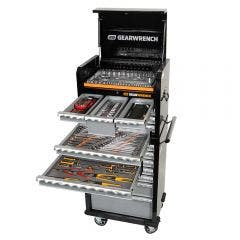 GEARWRENCH 209 Piece Tool Kit 7 Drawer 26 Inch Cabinet 7 Drawer Deep Chest 89901