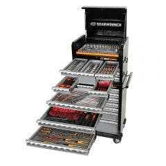 GEARWRENCH 326 Piece Tool Kit 7 Drawer 26 Inch Cabinet 7 Drawer Deep Chest 89915