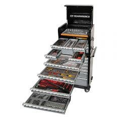 GEARWRENCH 312 Piece Tool Kit 7 Drawer 26 Inch Cabinet 7 Drawer Deep Chest 89912