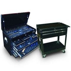 SP TOOLS 135 Piece Metric Tool Kit with 2 Drawer Trolley SP50111