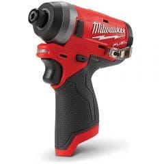 "MILWAUKEE 12V FUEL™ Brushless 1/4"" Impact Driver Skin M12FID0"