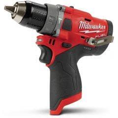 MILWAUKEE 12V Fuel 13mm Hammer Drill Skin M12FPD0