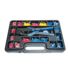ENDEAVOUR Terminals / Ratchet Crimping Kit (552 Pc)