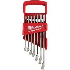 MILWAUKEE 7 Piece Imperial Combination Spanner Set 48229407
