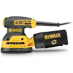 DEWALT 125mm 280W Random Orbit Palm Sander DWE6423XE