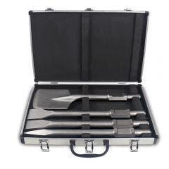 DETROIT 30mm-Hex Chisel Set - 4 Piece