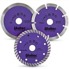 UNITEC 125mm Diamond Blade Set - SPRINT - 3 Piece