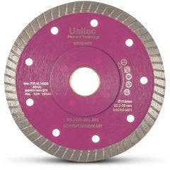 UNITEC 115mm Diamond Blade Turbo for Ceramic Cutting - LAZERCUT