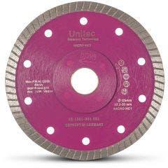 UNITEC 125mm Diamond Blade Turbo for Ceramic Cutting - LAZERCUT U-5LZTT