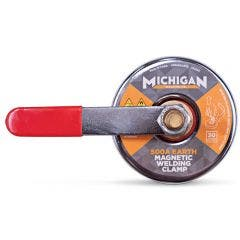 MICHIGAN 500a 30kgf Turn Release Earth Magnetic Welding Clamp MMAGEAR10
