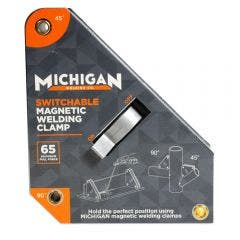 MICHIGAN Multi-Angle 65kgf Switchable Magnetic Welding ClampMMAGSSW65