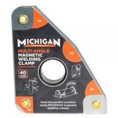 MICHIGAN Multi-Angle 40kgf Magnetic Welding Clamp MMAGMUL401