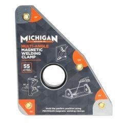 MICHIGAN Multi-Angle 55kgf Magnetic Welding Clamp MMAGMUL551