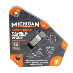 MICHIGAN Multi-Angle 30kgf Switchable Magnetic Welding Clamp MMAGMSW30
