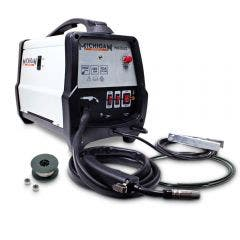 MICHIGAN 135a Gas/Gasless MIG Welder with Accessories MIG135S2