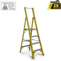 GUARDALL 1.5m Platform Step Ladder