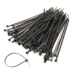 DETROIT 4.8x200mm 100 Pack Black Cable Ties DRCT20048MM