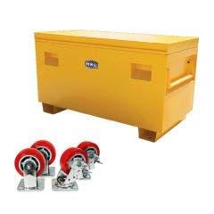 HRD - Large Site Box with 4 Piece Castors HRDSB3K1