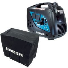 SABER Generator Petrol Inv 2000W with Cover