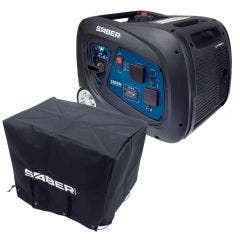 SABER Generator Petrol Inv 3300W with waterproof cover