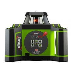 IMEX 600m Red Beam Rotary Laser Level with mm-Receiver 012I77R