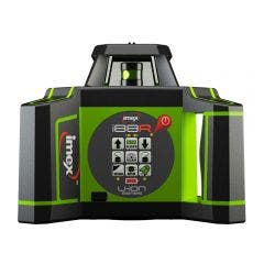 IMEX 600m Red Beam Rotary Laser Level with mm-Receiver 012I88R