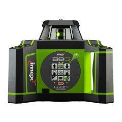 IMEX 600m Green Beam Rotary Laser Level with mm-Receiver 012I88G