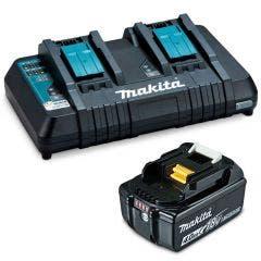 MAKITA 18V Rapid Battery BL1840B & Charger DC18RD Kit 1984984