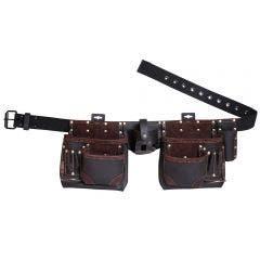 MASTERCRAFT 12 Pocket Leather Tool Apron MC0004