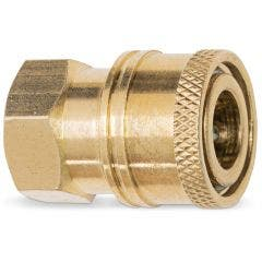 SABER 1/4inch Pressure Washer Female Coupler SPAC6