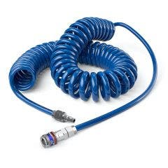 CEJN ESAFE Nitto Fitted Spiral Air Hose 6.5 x 10mm x 6m