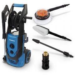 SABER 2300Psi Pressure Washer Kit w Bonus Turbo Nozzle & Coupler Brushers