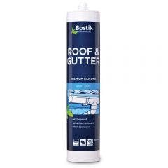 BOSTIK 300ml Translucent Roof and Gutter Sealant 30800828