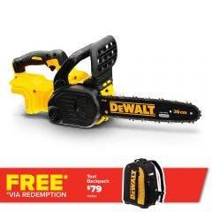 DEWALT 18V Brushless 300mm Chainsaw Skin DCM565N-XE