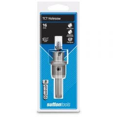 SUTTON 16 x 5mm TCT Holesaw for Metal