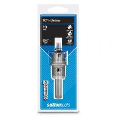 SUTTON 19 x 5mm TCT Holesaw for Metal